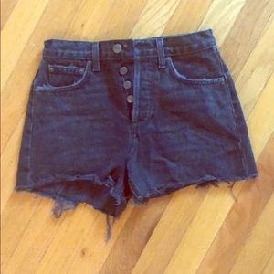 Reformation high waisted Dixie shorts